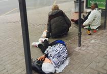 Бомжи не дают житья целой улице в центре Москвы