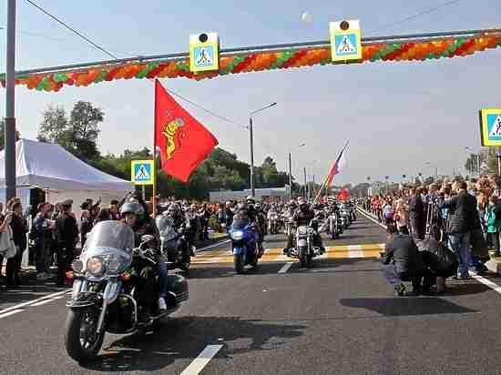 Во Владимире торжественно открыли Лыбедскую магистраль