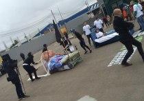 Во Владимире прошли вторые по счету гонки на кроватях