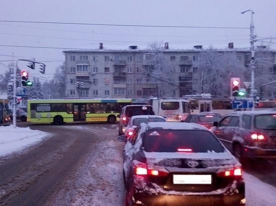 Во Владимире увеличилось число пробок