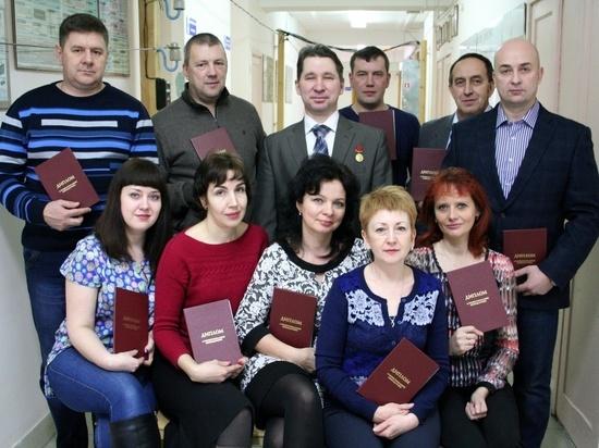 Энергетикам филиала «Владимирэнерго» вручены дипломы о профессиональной переподготовке